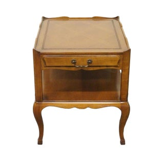 20th Century French Provincial Heritage End Table For Sale