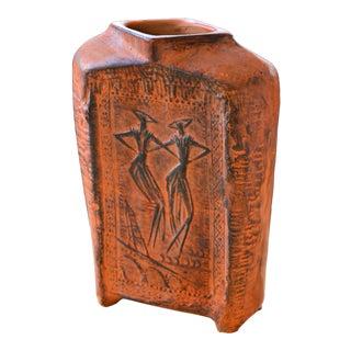 Mid-Century Italian Terracotta Vase