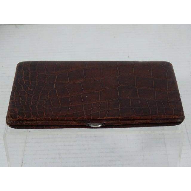 Genuine Crocodile Skin Card Case For Sale In Houston - Image 6 of 7