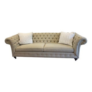 Ethan Allen Grand Mansfield Sofa For Sale