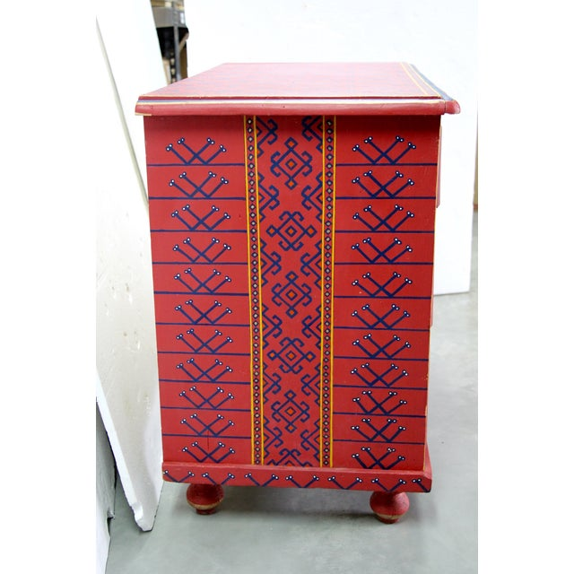 19th-Century English Painted Chest of Drawers - Image 5 of 7