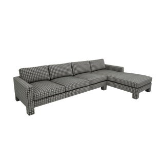 "Spring Street Sectional ""Upholstered Legs"" For Sale"