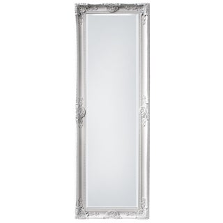 Mayfair Belle Vintage White Full Length Mirror For Sale