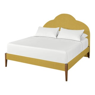 The Crown Bed - King - Kate - Italian Blend, Lemongrass For Sale