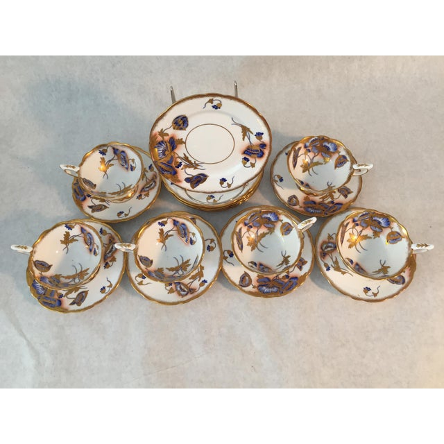 1940s 1940s Royal Stafford Tea and Dessert - Set of 12 For Sale - Image 5 of 8