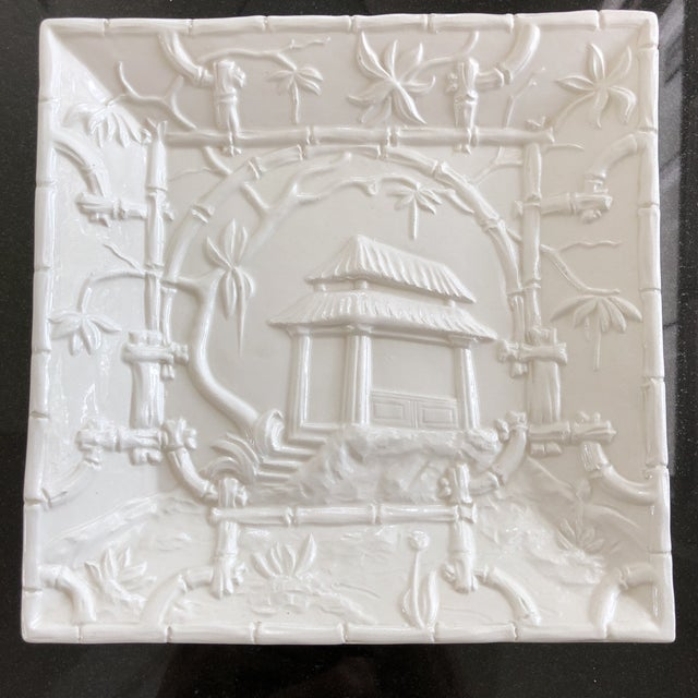 Asian Modern Mottahedeh Design Pagoda Dish For Sale - Image 13 of 13