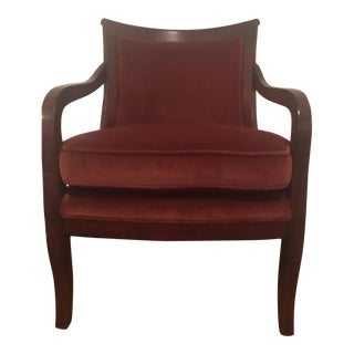 Vintage British Colonial Style Chair