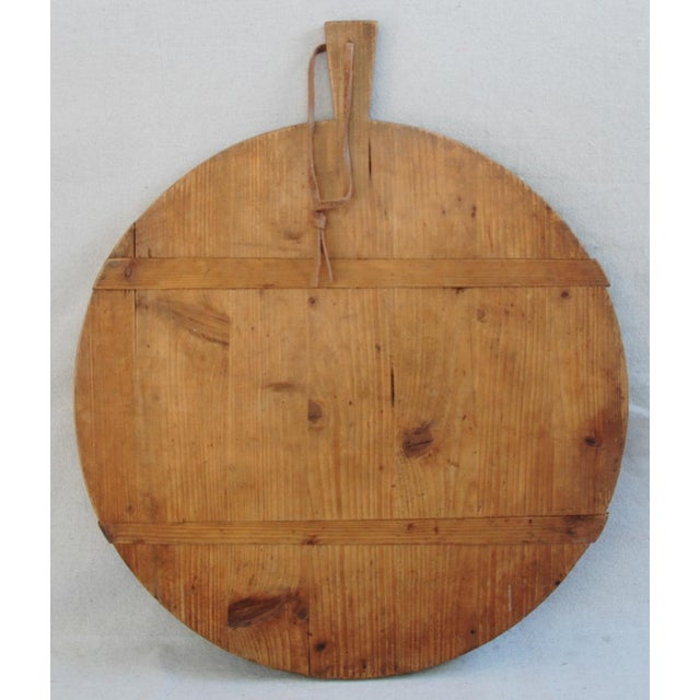 Round French Harvest Bread Cheese Board - Image 2 of 9