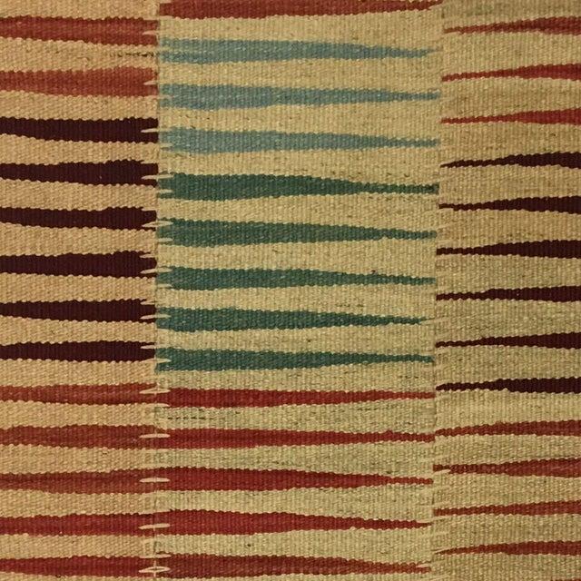 Modern Modern Patchwork Kilim | Flatweave For Sale - Image 3 of 4