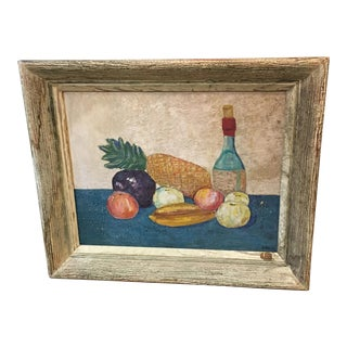 Ruth Belov Mid-Century Fruit Still Life Painting