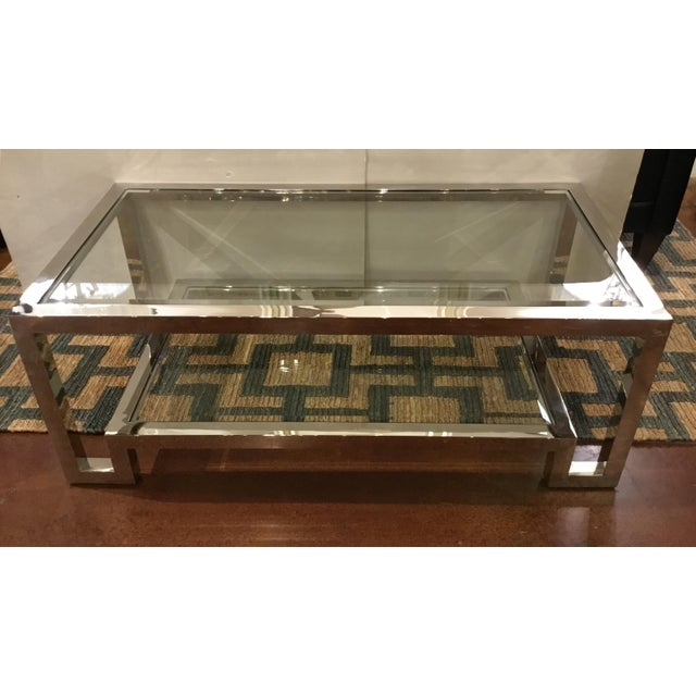 Modern Modern Worlds Away Winston Cocktail Table For Sale - Image 3 of 6