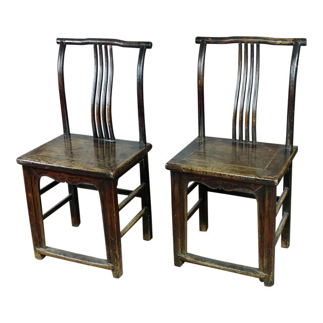 Antique Chinese Chairs- a Pair For Sale - Luxury Antique Chinese Chairs- A Pair DECASO