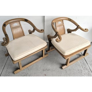 "Baker Furniture, Michael Taylor - Oriental Lounge Chairs, ""Far East Collection"", 1960's / a Pair Preview"