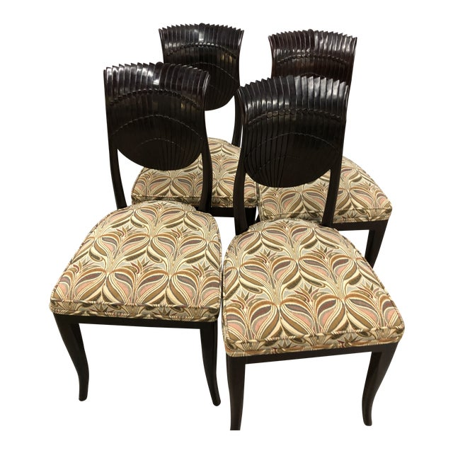 Set (4) Vintage Chairs For Sale