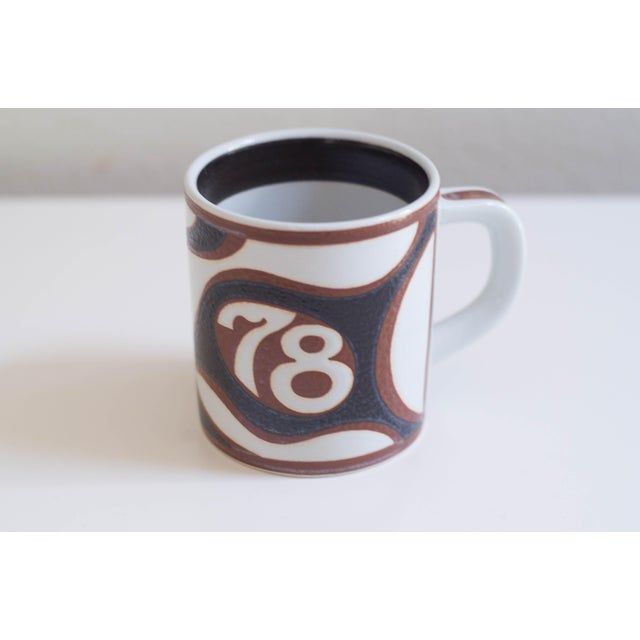 Vintage Danish Royal Copenhagen Annual Mugs - Set of 14 For Sale - Image 9 of 11