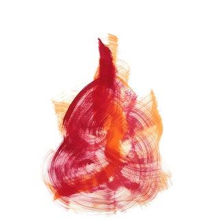 """The Red Cloth 126"" Original Artwork by Bettina Mauel For Sale"