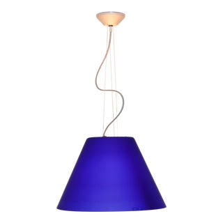 Vintage Mid-Century Modern Murano Glass Pendant Lamp For Sale
