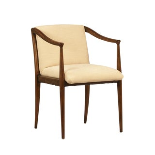 Carved Birch Frame Dining Chair For Sale
