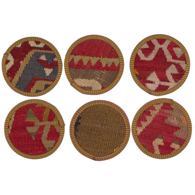 Melika Kilim Coasters - Set of 6 - Image 2 of 2