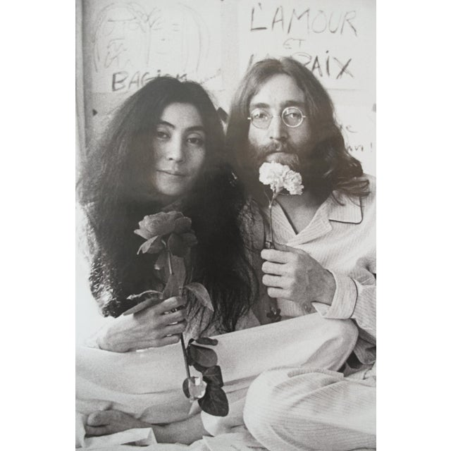 """In 2009, the Montreal Museum of Fine Arts presented an exhibition entitled """"Imagine: The Peace Ballad of John and Yoko""""..."""