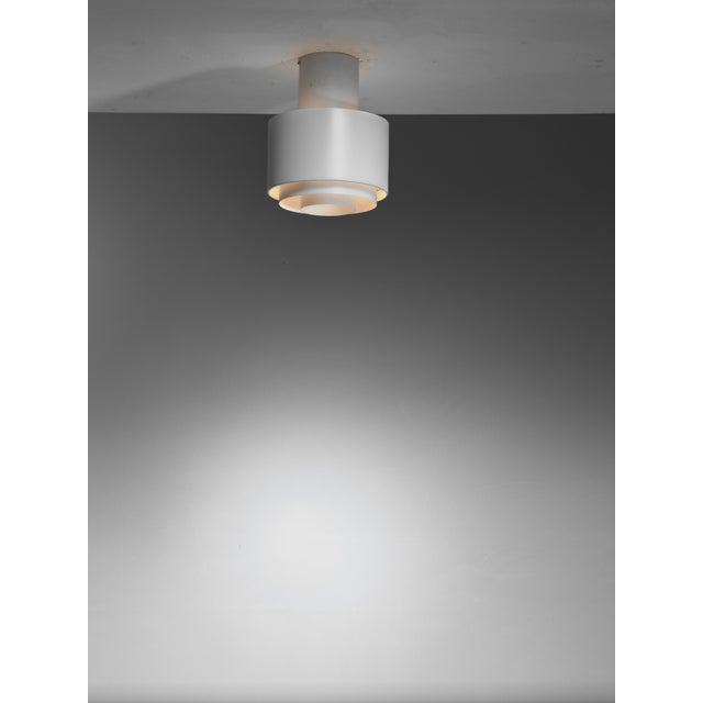 Mid-Century Modern Paavo Tynell model A2-35 ceiling lamp for Idman, Finland, 1950s For Sale - Image 3 of 3