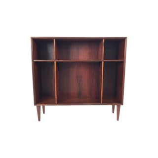 Vintage Danish Minimal Rosewood Bookcase or Display Shelves