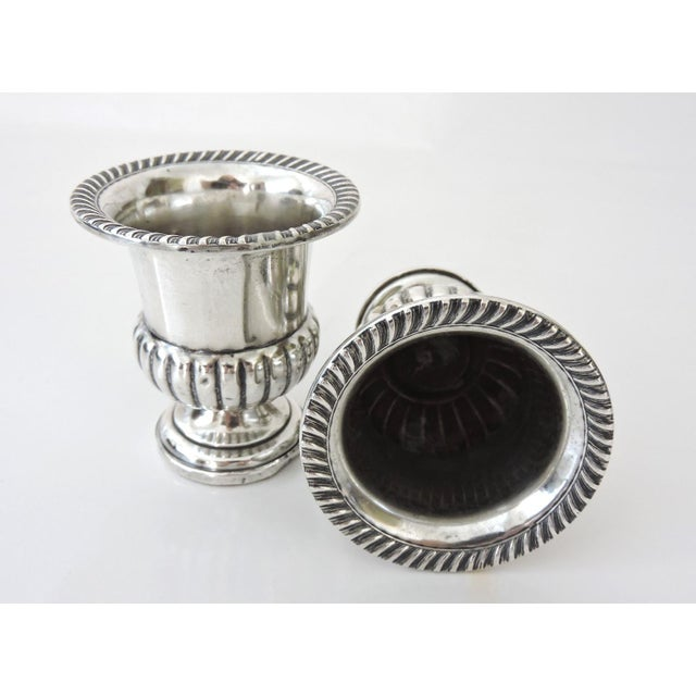 M.Fred Hirsch Sterling Silver Toothpick Holders/Candle Holders - Image 2 of 4