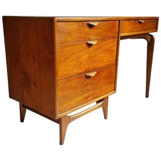 Modernist Walnut Desk Andre Bus for Lane Perception Series For Sale