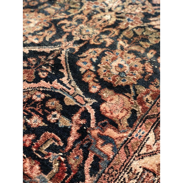 """1960s Persian Malayer Wool Runner - 3'5""""x19'4"""" For Sale - Image 12 of 13"""