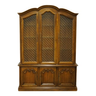 Drexel Heritage Tourine II French Provincial China Cabinet For Sale