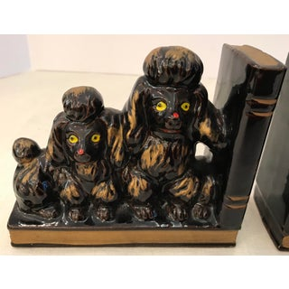 Mid-Century French Poodle Bookends - A Pair Preview