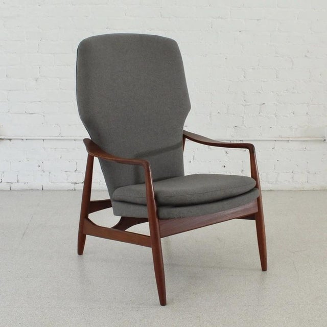 Wood Vintage Finn Juhl Model 1 Lounge Chair For Sale - Image 7 of 7