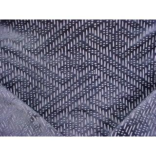Art Deco Holly Hunt Break Free Echo Embossed Bubble Velvet Upholstery Fabric - 4-3/8y For Sale