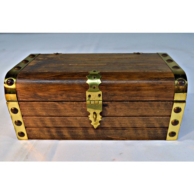 Japanese Wooden Jewelry Box - Image 2 of 10