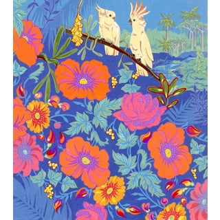 Tropical Bird I Original Painting For Sale