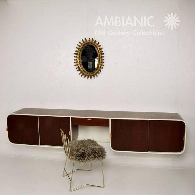 Pr03 Folding Brass & Lambskin Chair For Sale - Image 9 of 9