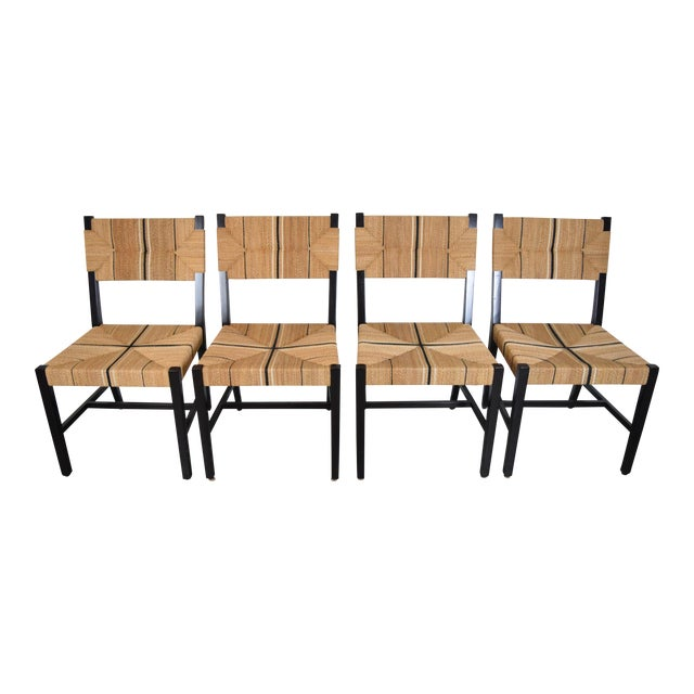 Serena & Lily Carson Side Chairs - Set of 4 For Sale