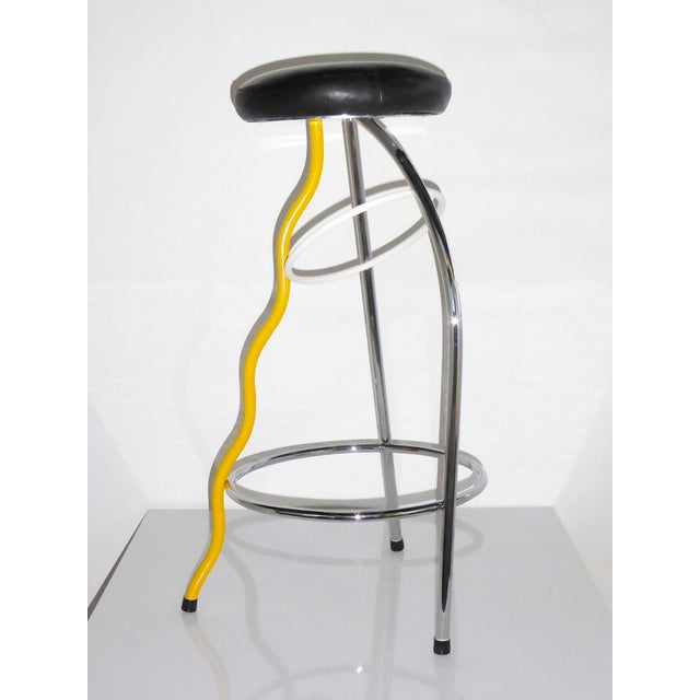 Memphis Duplex Stool by Javier Mariscal Spain, Late 1970s For Sale - Image 12 of 12