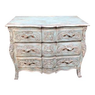 French Gray Bombay Chest Commode by Charles Pollock for William Switzer For Sale