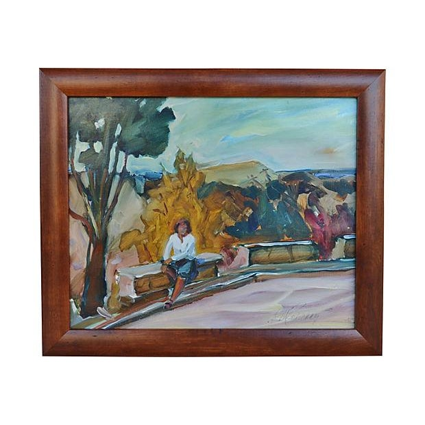 Francheschi Park Painting - Image 1 of 3