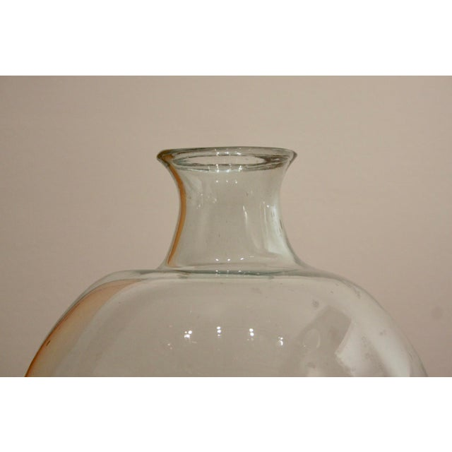Rustic Oversize Glass Demijohn / Carboy For Sale In Dallas - Image 6 of 10