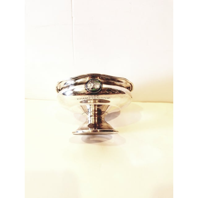 1950s Silver Golf Trophy For Sale - Image 5 of 9