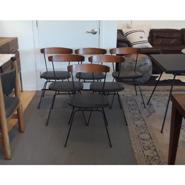 1950s Mid-Century Modern Clifford Pascoe Dining Set - 7 Pieces For Sale - Image 4 of 8