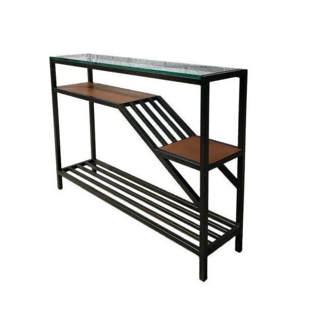 Foreman Brothers Design Lloyd Entry Table For Sale - Image 4 of 4