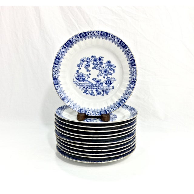 Antique Chinoiserie Dessert Set, 44 Pcs. For Sale In Raleigh - Image 6 of 13