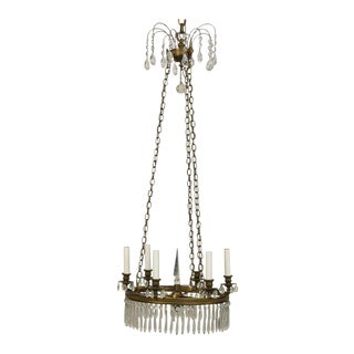 Regency Style Chandelier For Sale