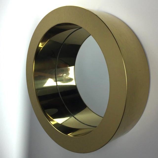 Hollywood Regency C. Jere Porthole Mirror For Sale - Image 3 of 4