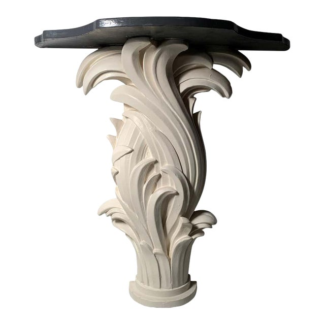 Vintage Plaster Console in manner of Serge Roche For Sale