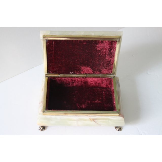 Hinged Onyx Box - Image 3 of 6