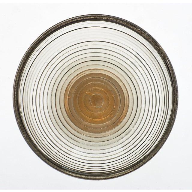 Contemporary Contemporary Gray and Avventurina Murano Glass Bowl For Sale - Image 3 of 11